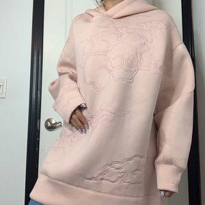 💞NICKI MINAJ x H&M Baby Pink Oversized Hoodie!💞